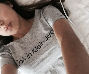 Calvin Klein, gray, and chill image
