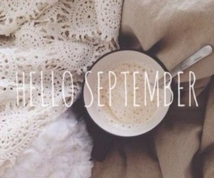 September, hello, and autumn image