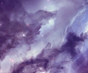wallpaper, galaxy, and purple image