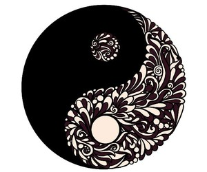 colores, yin yang, and simbolos image