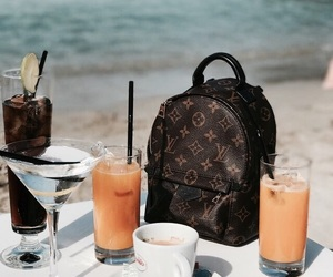beach, Louis Vuitton, and luxury image