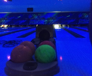 blue, bowling, and inspirations image