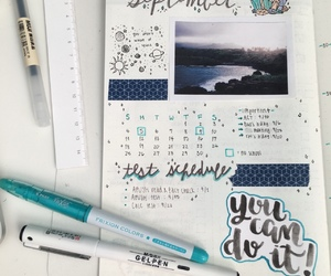 art, calender, and drawing image