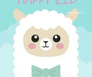 kawaii, cute, and alpaca image