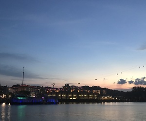 city, singapore, and skyline image