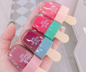 pink, red, and liptint image