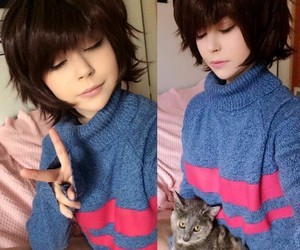 cosplay and undertale image