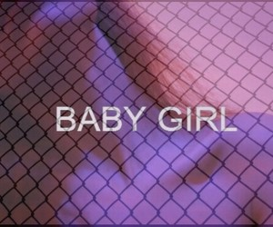 baby, baby girl, and grunge image