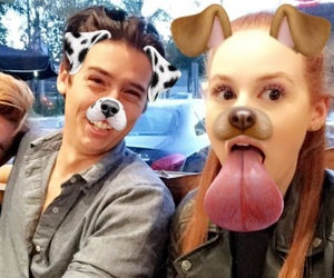 riverdale, cole sprouse, and madelaine petsch image