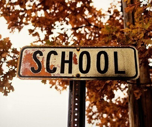 school, autumn, and fall image