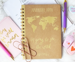 quote, stationary, and love image