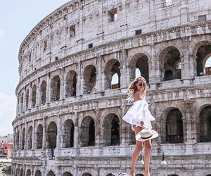 rome, fashion, and travel image