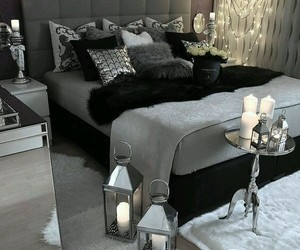 home, bedroom, and decoration image