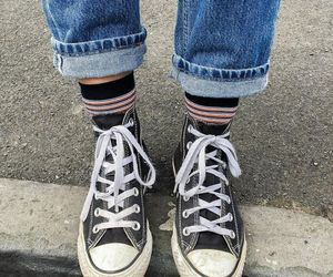 converse, shoes, and aesthetic image