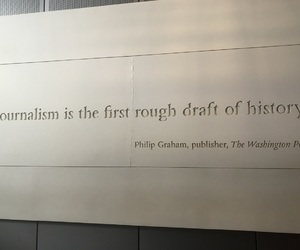 quotes, Washington DC, and newseum image