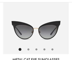 black sunglasses, D&G, and fashion image
