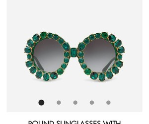 dolce and gabbana, green, and jewelry image