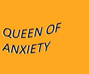 quotes, anxiety, and yellow image