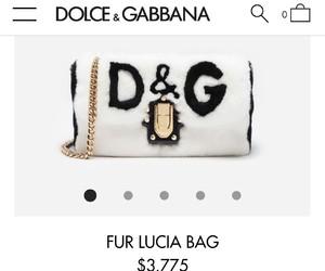 bag, fur, and purse image