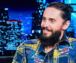 30 seconds to mars, beard, and jared leto image