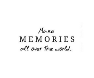 quotes, memories, and travel image