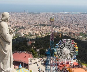 adventure, Barcelona, and spain image