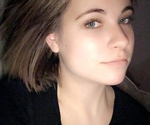 beauty, german youtuber, and grunge black image