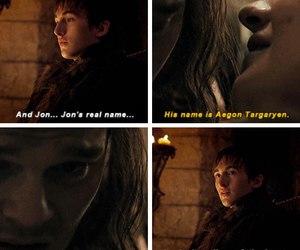 game of thrones, jon snow, and aegon targaryen image