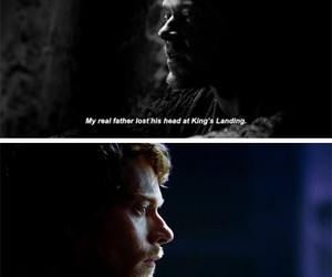 game of thrones, eddard stark, and theon greyjoy image