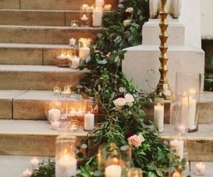 candles, beauty, and decoration image