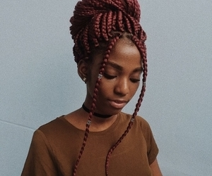 braids, african american, and article image