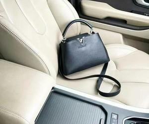 bag, car, and handbag image