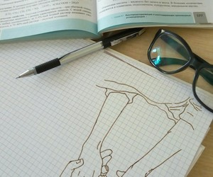 beautiful, drawing, and school image