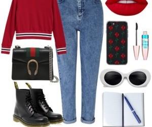 fall, fashion, and knits image