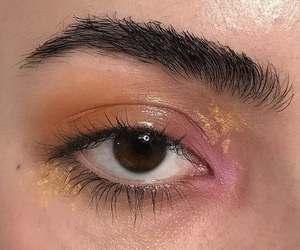 color, eyeshadow, and gold image