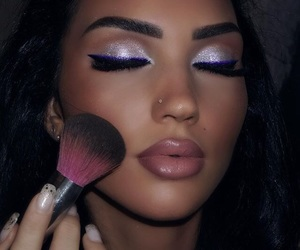 beautiful, flawless, and purple image