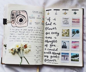 journal, book, and art image