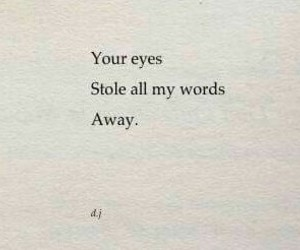 quotes, eyes, and words image