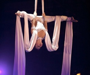 aerial, circus, and dance image