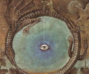 eye and ouroboros image