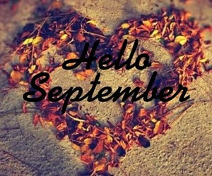 heart, September, and autumn image
