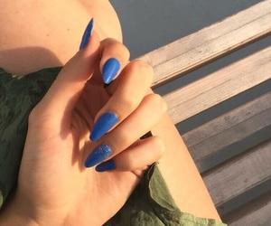 blue, design, and dress image