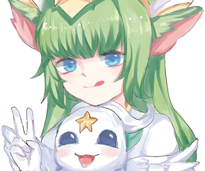 lol, lulu, and league of legends image