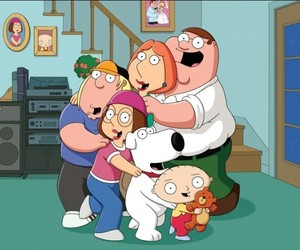 family guy, Peter Griffin, and stewie griffin image