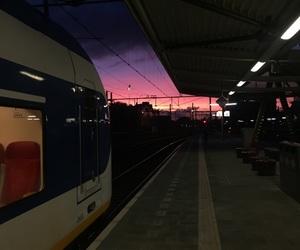 Late, lights, and night image