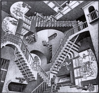 escher and art image