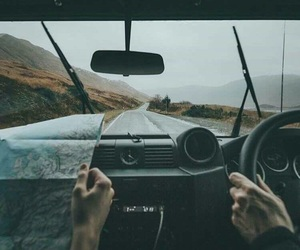 adventure, drive, and driving image