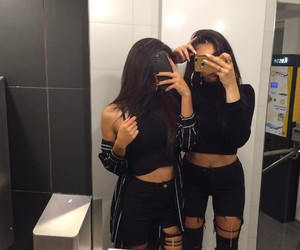 girls, outfits, and tumblr image