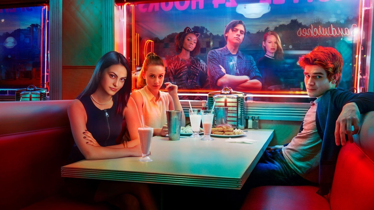 drama, teen, and riverdale image