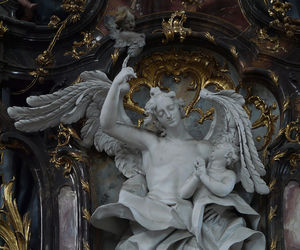 churches, wings, and marble image